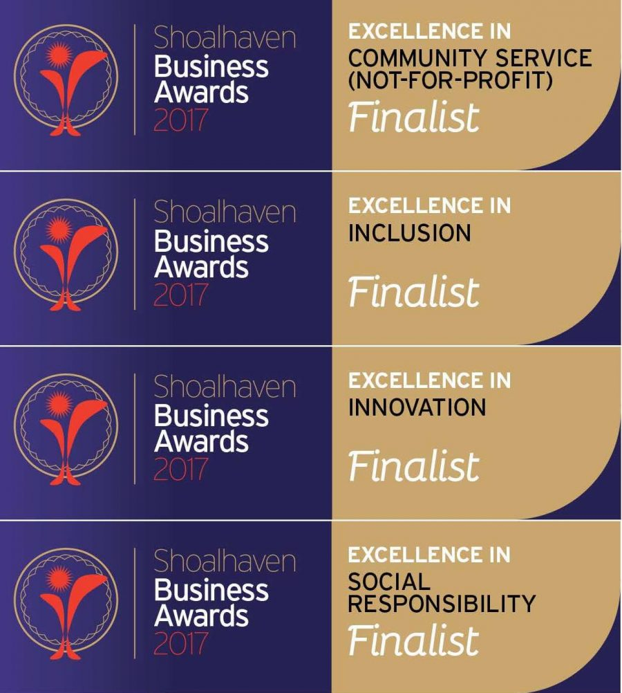Southern Cross Housing; Finalists in the Shoalhaven Business Awards 2017