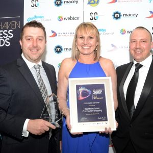 Winners at the 2016 Shoalhaven Business Awards