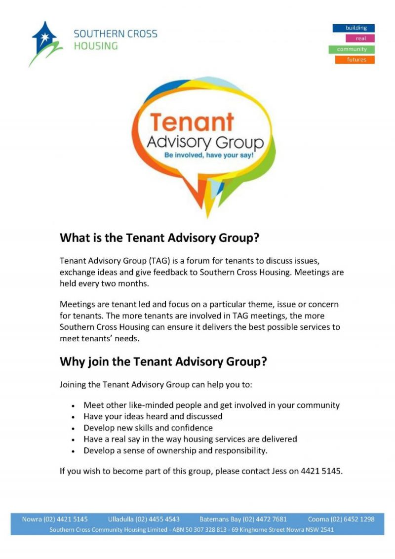 Tenant Advisory Group